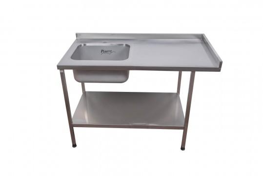שולחן נירוסטה לעבודה